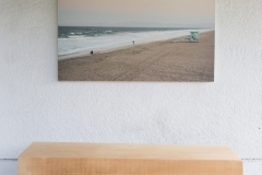 """wistful break 48"""" x 32"""" limited edition archival print hand mounted on wood"""