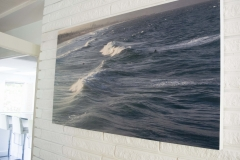 """swell 48"""" x 27"""" 11 editions archival print hand mounted on wood"""