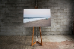 """wistful break 48"""" x 32"""" 11 editions archival print hand mounted on wood"""